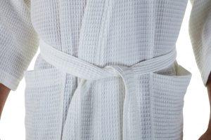 Áo choàng tắm sợi vải tổ ong