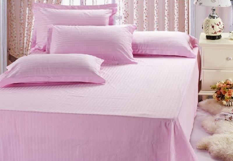 Vải may chăn ga khách sạn 100% Cotton mềm mại, mát dịu