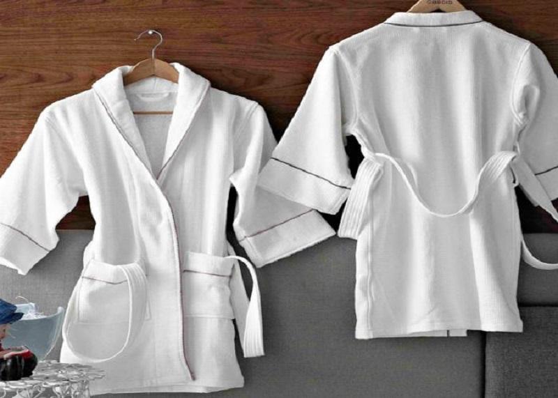 Hướng dẫn cách làm mềm áo choàng tắm cotton