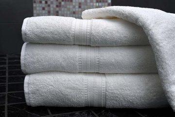 Lưu ý khi chọn khăn tắm phù hợp với không gian nhà tắm