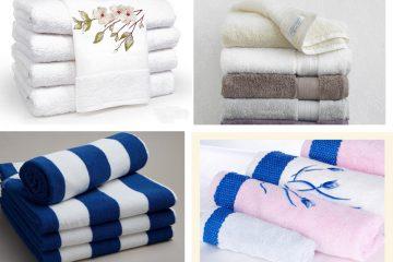 Lựa chọn và sử dụng khăn tắm khách sạn đúng cách