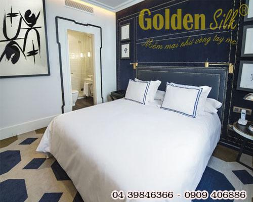 Chăn ga gối đệm khách sạn cao cấp CGKS 52