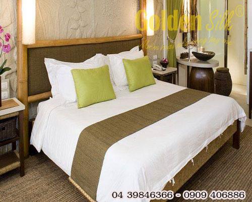Chăn ga gối đệm khách sạn cao cấp CGKS 63
