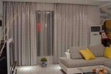 Rèm phòng khách Golden Silk – Sự thanh lịch và sang trọng