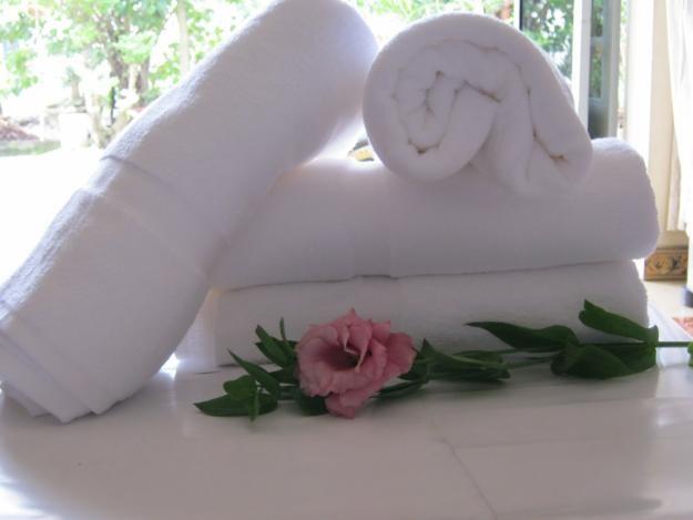 Bí quyết để có làn da đẹp từ khăn tắm khách sạn cao cấp