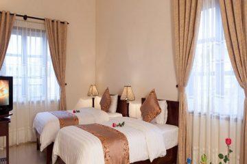 3 tiêu chí chọn rèm vải khách sạn cho phòng tắm