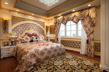 Rèm vải khách sạn theo phong cách cổ điển – Xu hướng 2017