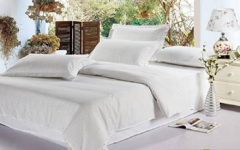 Cách chọn vải may chăn ga khách sạn từ A - Z