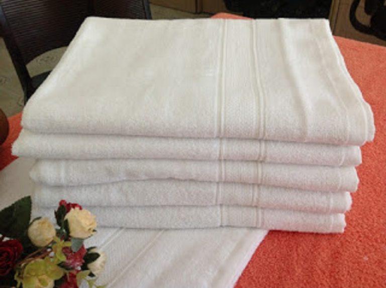Mách nước cách sử dụng khăn bông khách sạn đúng cách