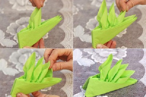 Khám phá 3 cách xếp khăn ăn khách sạn đơn giản
