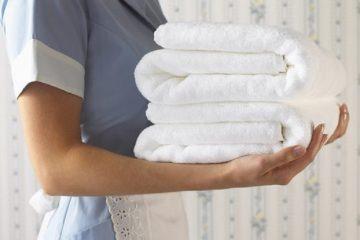 7 nguyên tắc giặt khăn tắm khách sạn nhân viên giặt bắt buộc phải biết