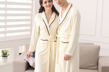 Đặc điểm của áo choàng tắm dệt tổ ong hay sợi bông