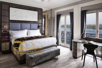 Mê mẩn với mẫu thiết kế chăn ga gối khách sạn cho phòng ngủ VIP