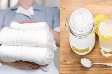 Tại sao baking soda lại được sử dụng làm sạch chăn ga gối đệm khách sạn?