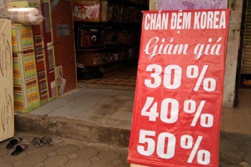 chăn ga khách sạn giá rẻ tại Hà Nội