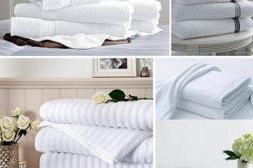 Tổng hợp những loại khăn khách sạn bắt buộc phải có