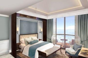 Mẫu chăn ga gối đệm khách sạn phong cách tối giản lên ngôi