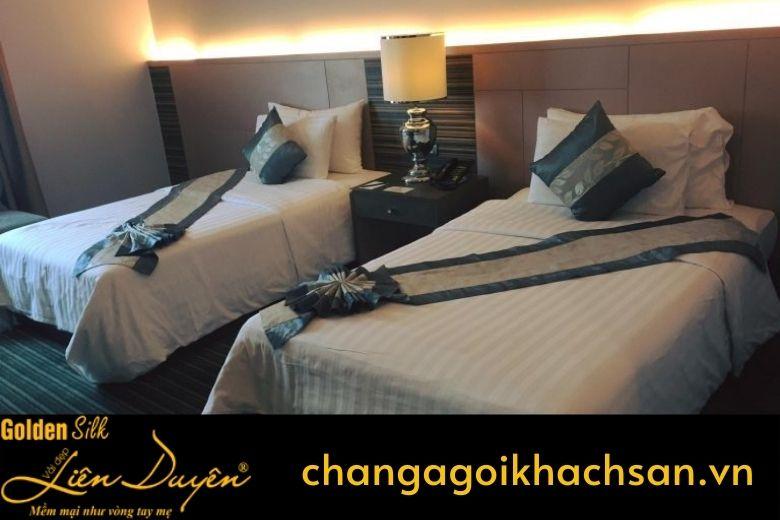 chăn ga gối đệm cho khách sạn