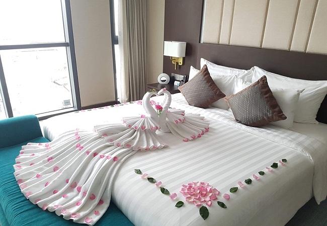 ga giường đẹp sang trọng
